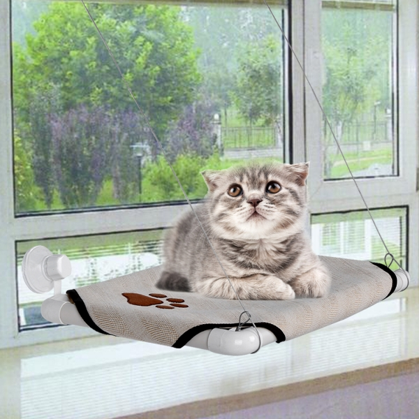 homdox  fortable cat window perch cozy kitty window bed stable kitty cot sunny seat am002685 g jpg  rh   homdox