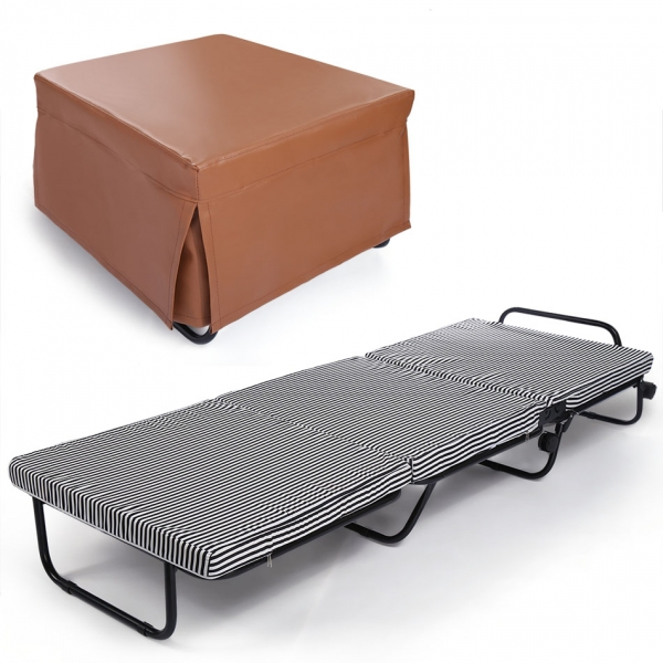 homdox folding beds sleeping cots portable bed folding guest beds bed frame foam