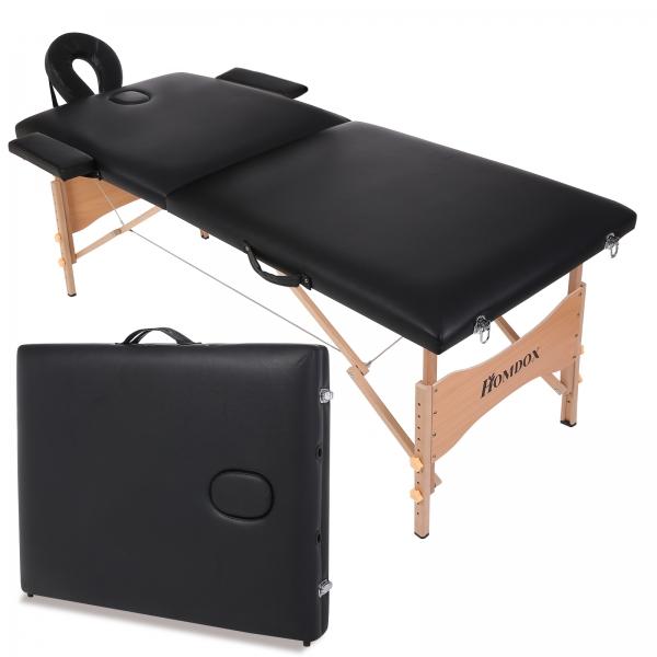 homdox massage table portable massage tables black